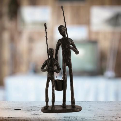 FISHING TRIP Elur Figurine 21cm Mocha