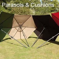 Sun Parasols & Cushion Range