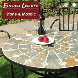 Stone & Mosaic Garden Furniture