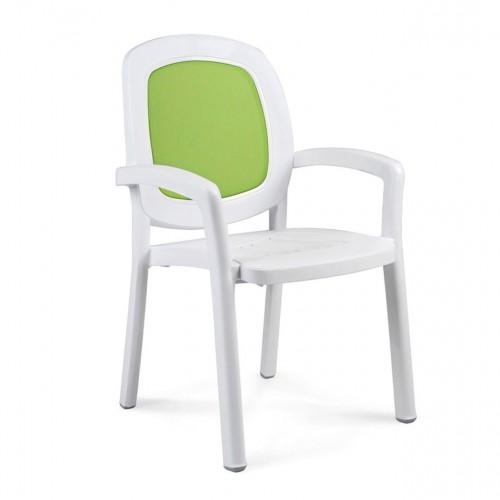 Beta Chair - white / lime
