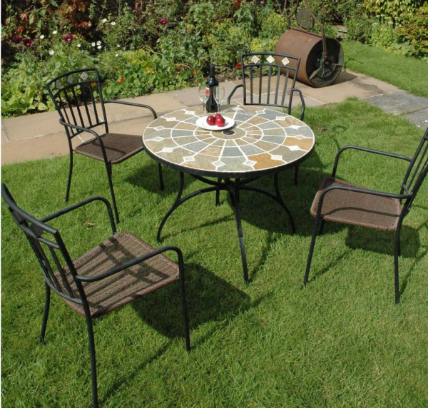 Alicante Table with Murcia Chairs