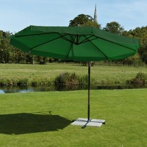 3mt Cantilever Parasol Green