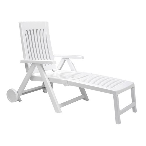 Achille Lounger - white