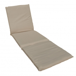 Lounger cushion - beige