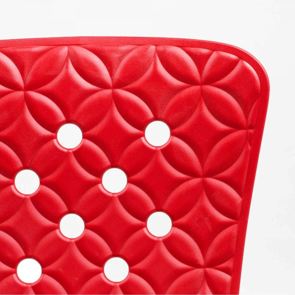 Zac Chair back - Red