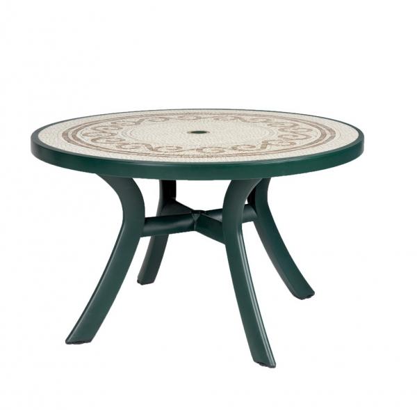Toscana 120 Green with Ravenna top