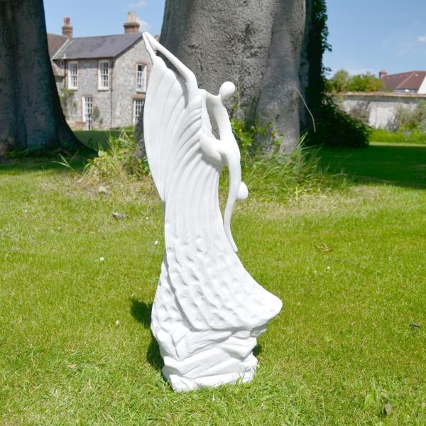 Ballroom Grace Contemporary Garden Sculpture