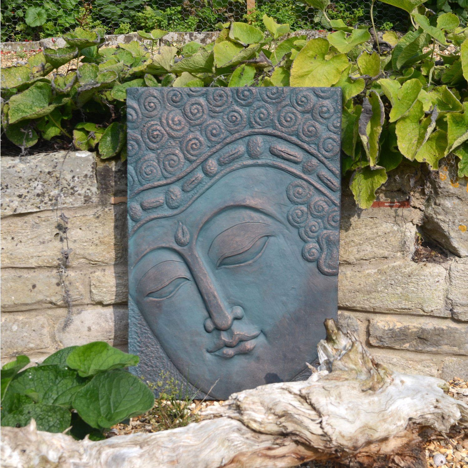 Outdoor Wall Plaques Buddha Wall Plaque  Europa Leisure Uk