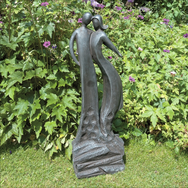 First Date Statue Black