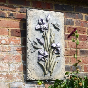 Lilac Bud Wall Plaque