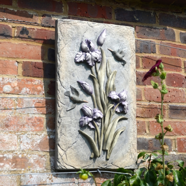 Lilac Bud Wall Plaque