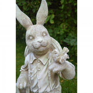 Mr Rabbit Statue Close Up