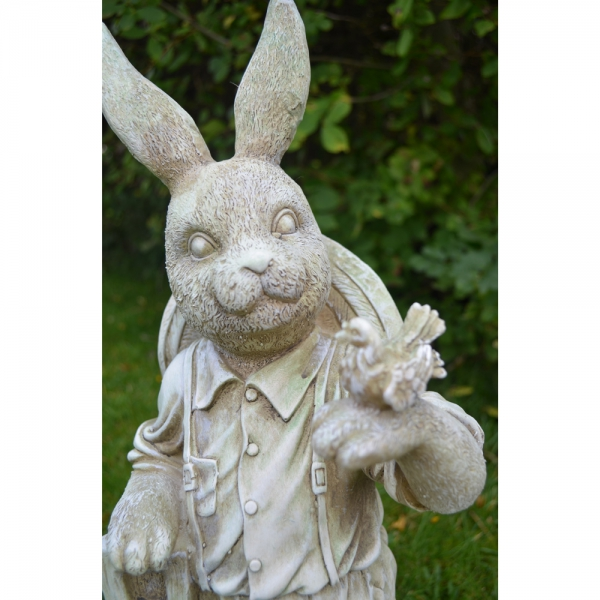 Mr Rabbit Statue Close Up
