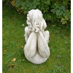 Petal Fairy Statue Back