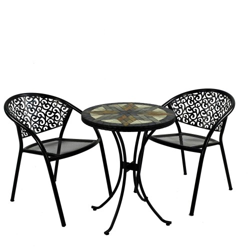 Montilla 60cm Bistro Table with Florence Chairs