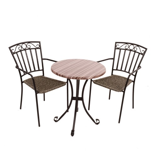 Kalmar Bistro table with Modena chairs