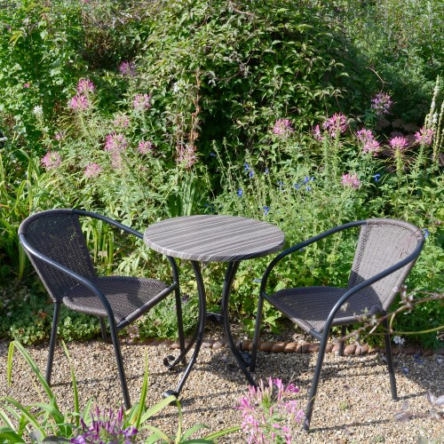 Kalmar Bistro table with San Luca chairs