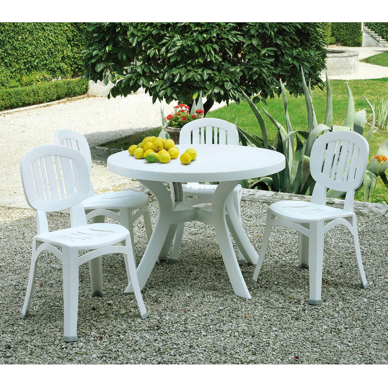 Toscana 100 Table White Europa Leisure Uk