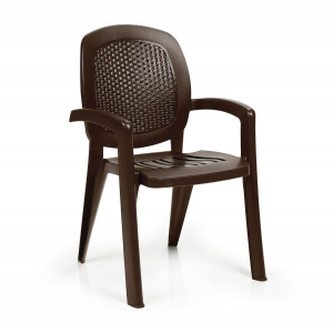 Creta Wicker effect - Coffee