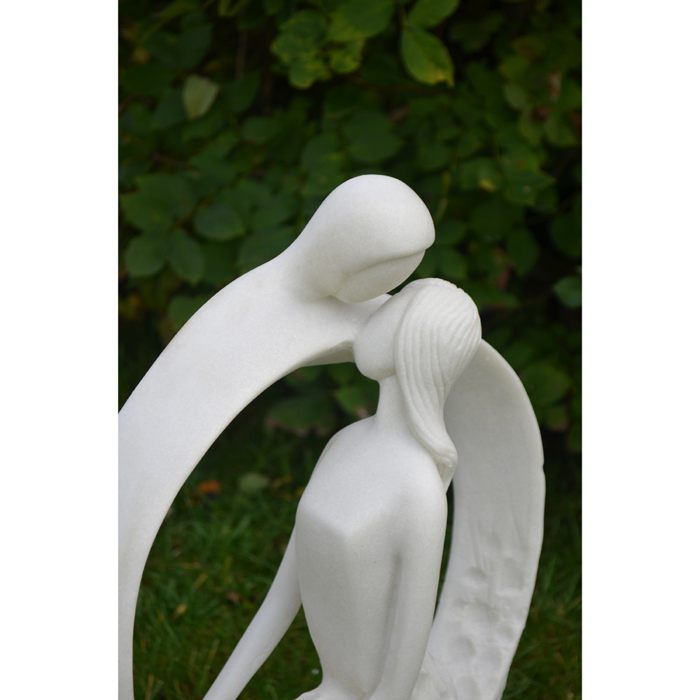 Blissful Halo Contemporary Sculpture
