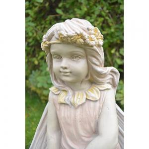 Blossom Fairy Statue Close Up