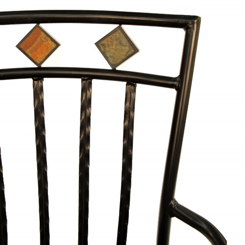 Malaga Garden Chair Seat Back Detail