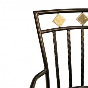 Murcia Garden Chair Seat Back Detail