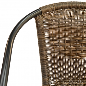 San Remo Garden Chair Back Detail