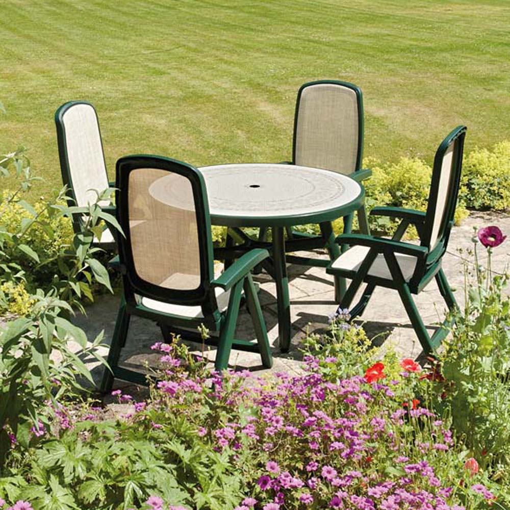 Toscana 120 table green Europa Leisure UK