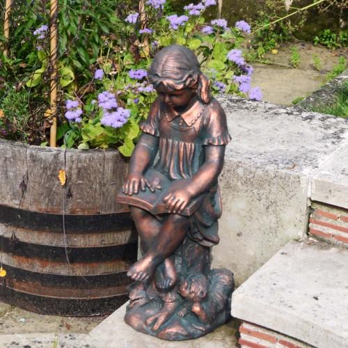 Daphne Small - bronze effect