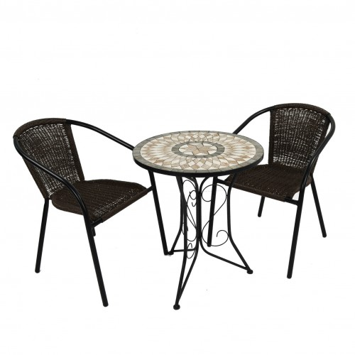 Brava Bistro table with San Luca chairs