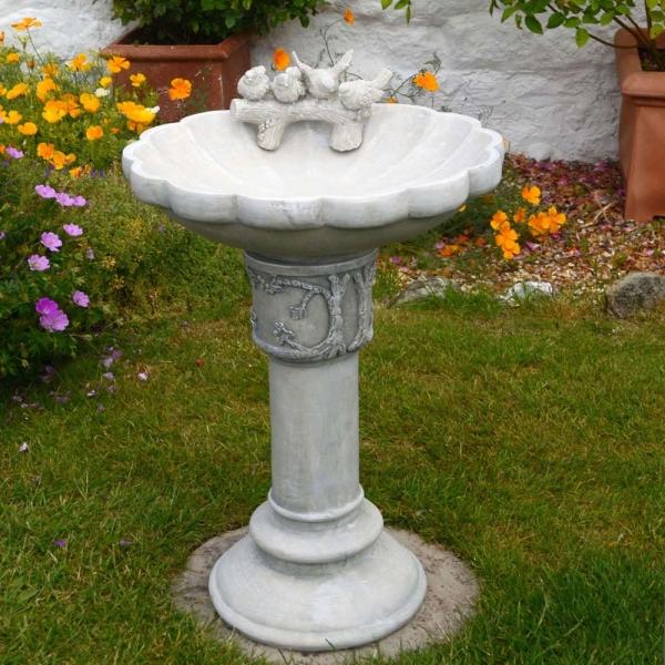 Derwent Antique Stone Birdbath