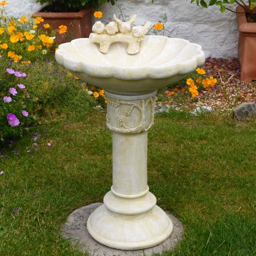 Derwent SandStone effect Bird Bath
