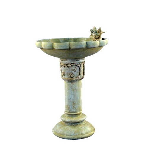 Derwend Bird bath - Sandstone effect