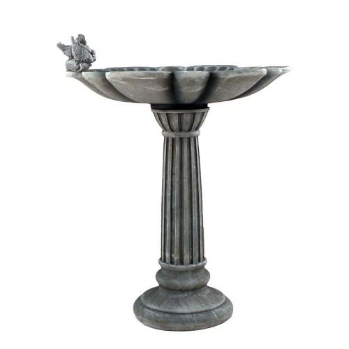 Windemere Birdbath - Copper Grey