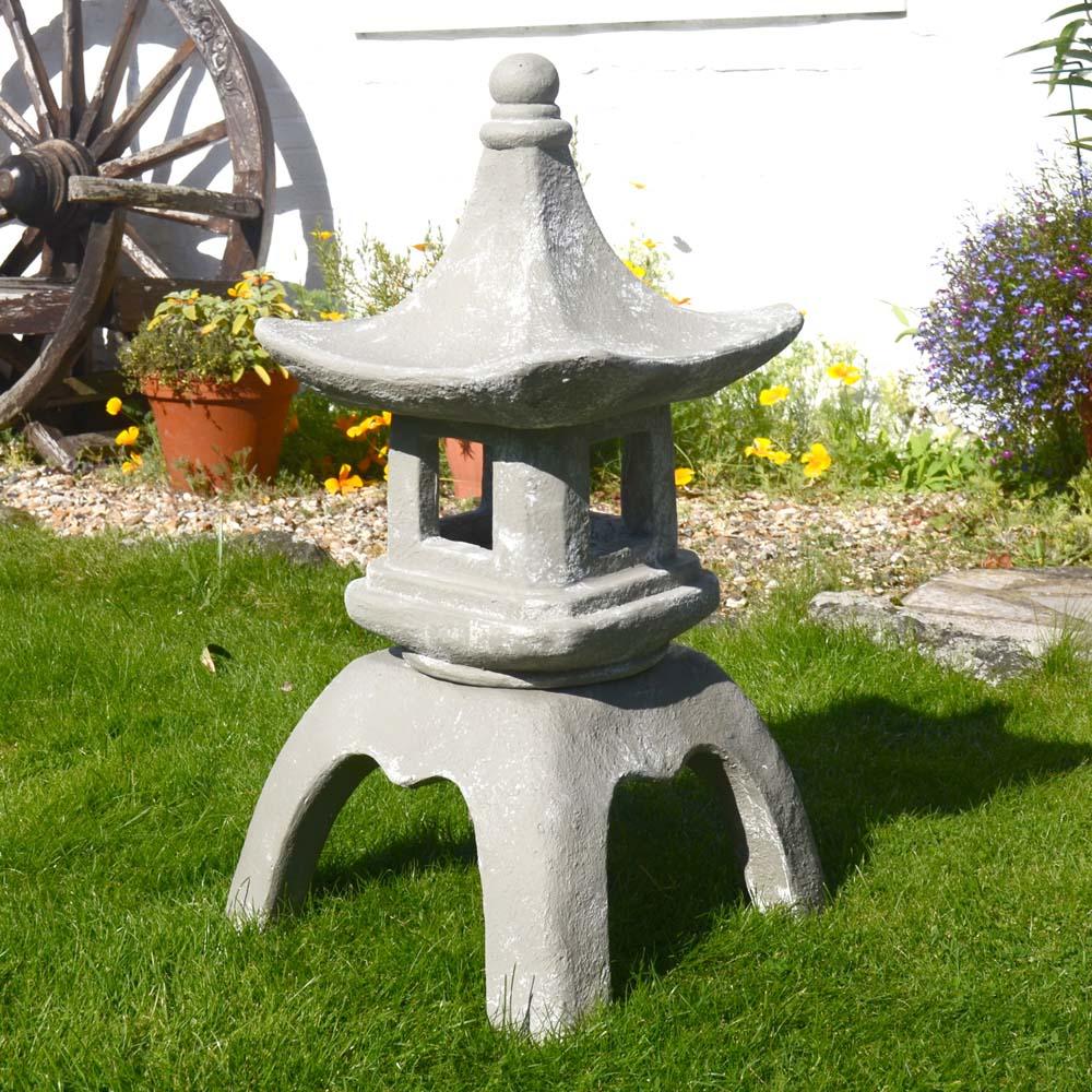 pagoda lantern. Black Bedroom Furniture Sets. Home Design Ideas
