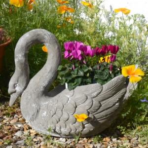 Swan Planter
