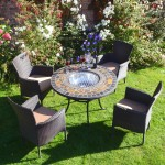 Stockholm chairs with Durango Firepit table