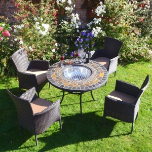 Durango Firepit with Stockholm chairs
