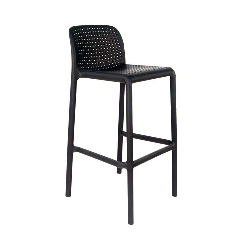 Lido bar stool - Anthracite
