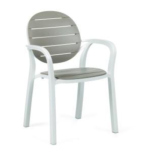 Palma Chair - White & Turtle Dove