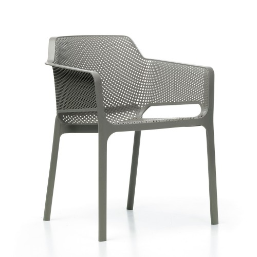 Net chair Turtle Dove grey
