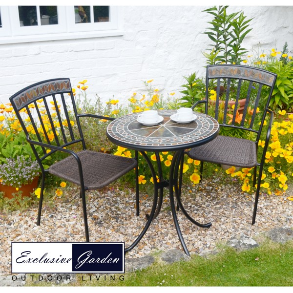 Clandon Bistro Table With Kingswood Chairs