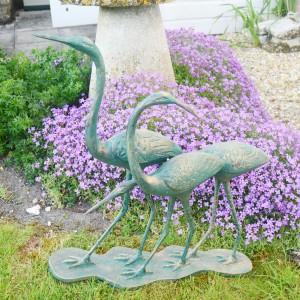 Family of three Egrets
