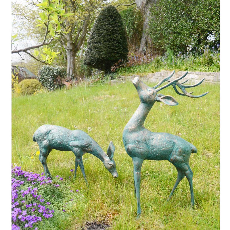 deer small pair. Black Bedroom Furniture Sets. Home Design Ideas