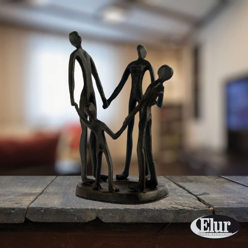 Family Circle - Elur figurine