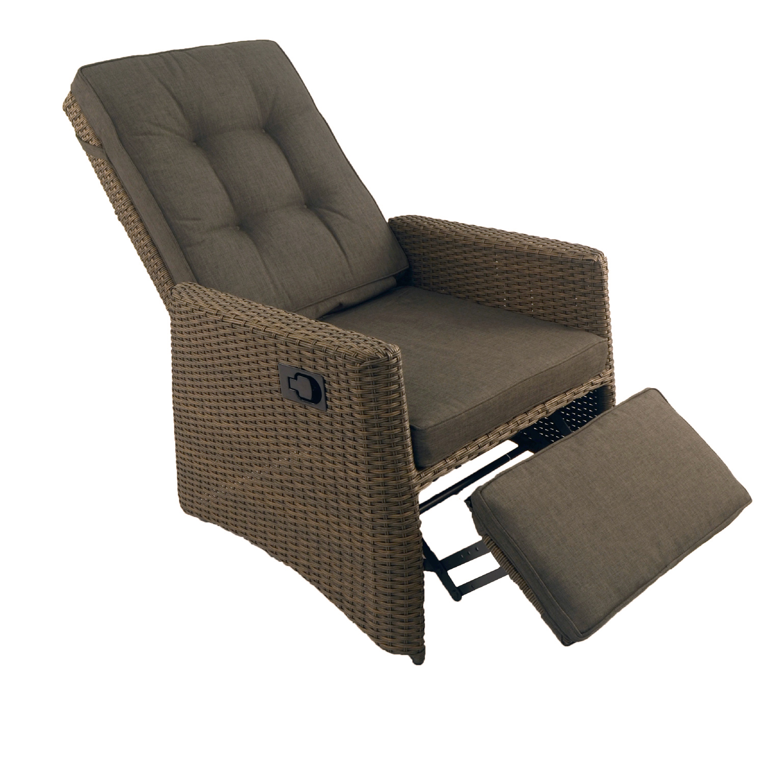 garden perfect cushions inside cushion outdoor with navy filling chair recliner luxury premium
