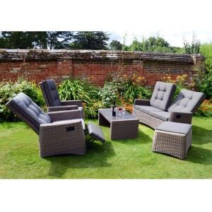 Milbrone Sofa Set Reclined
