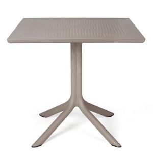 Nardi Clip Table in Turtle Dove