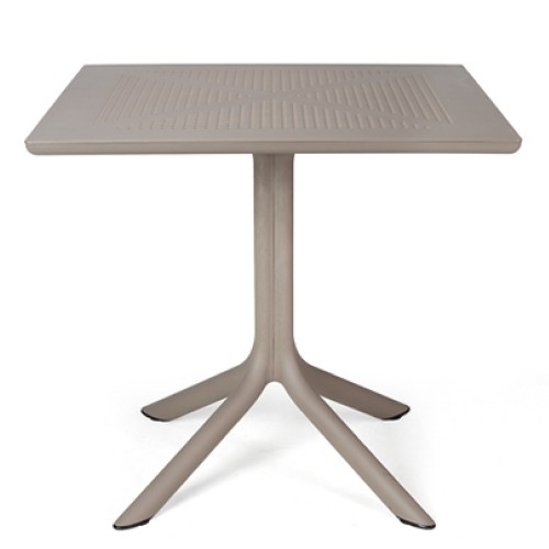 Nardi Clip Table in Turtle Dove